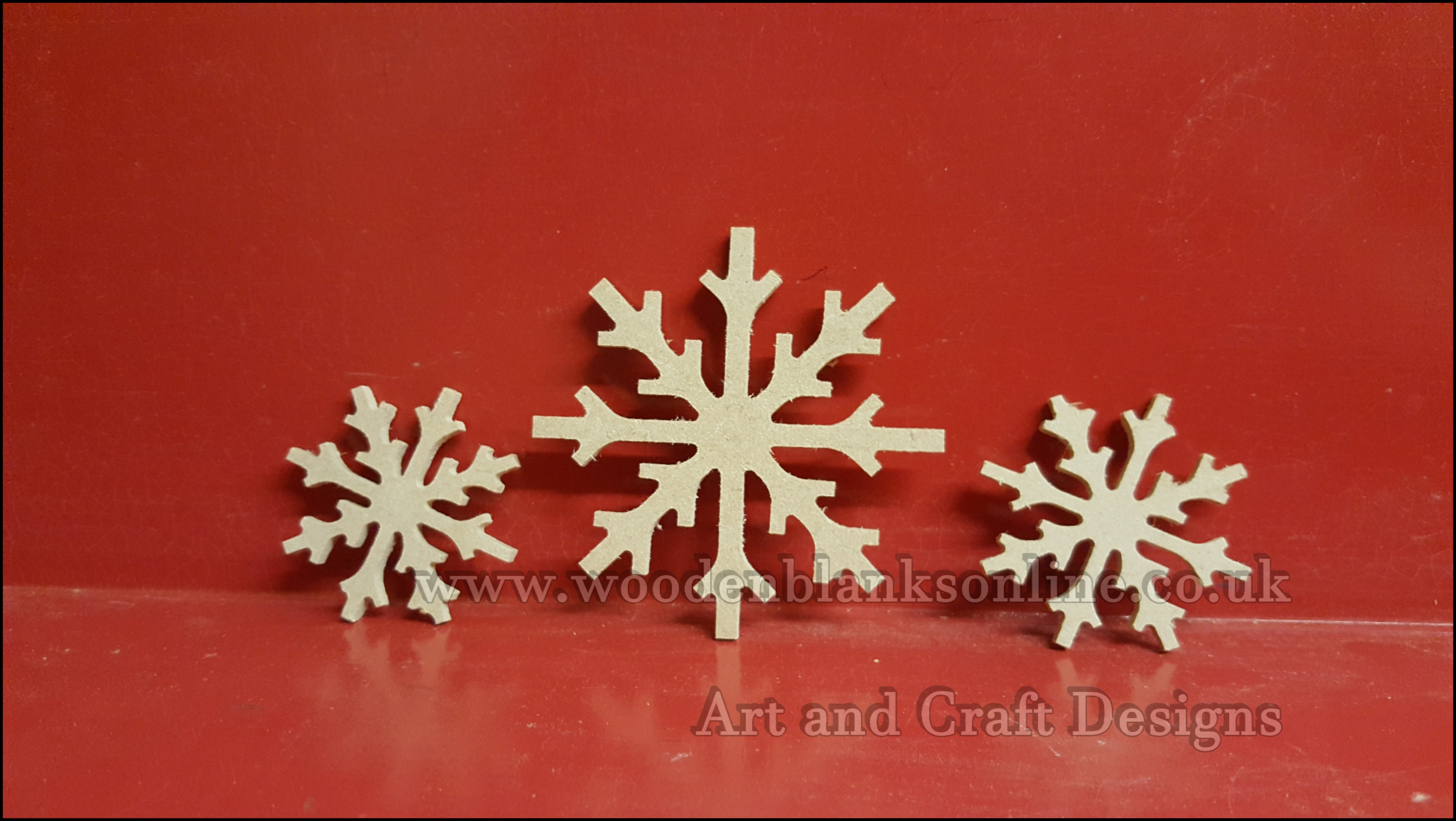 Snowflakes for boxes