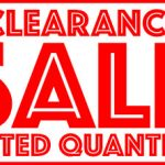 Limited Stock Clearance