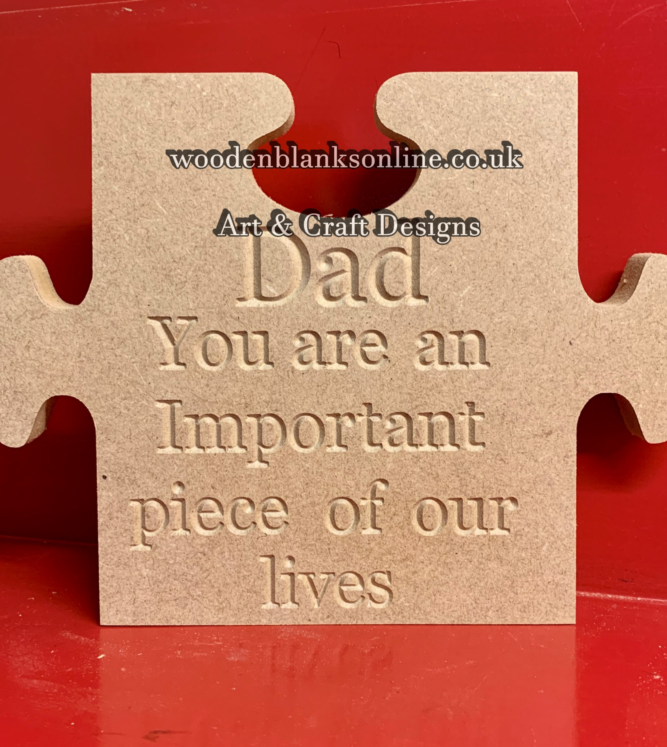 Dad jigsaw our lives