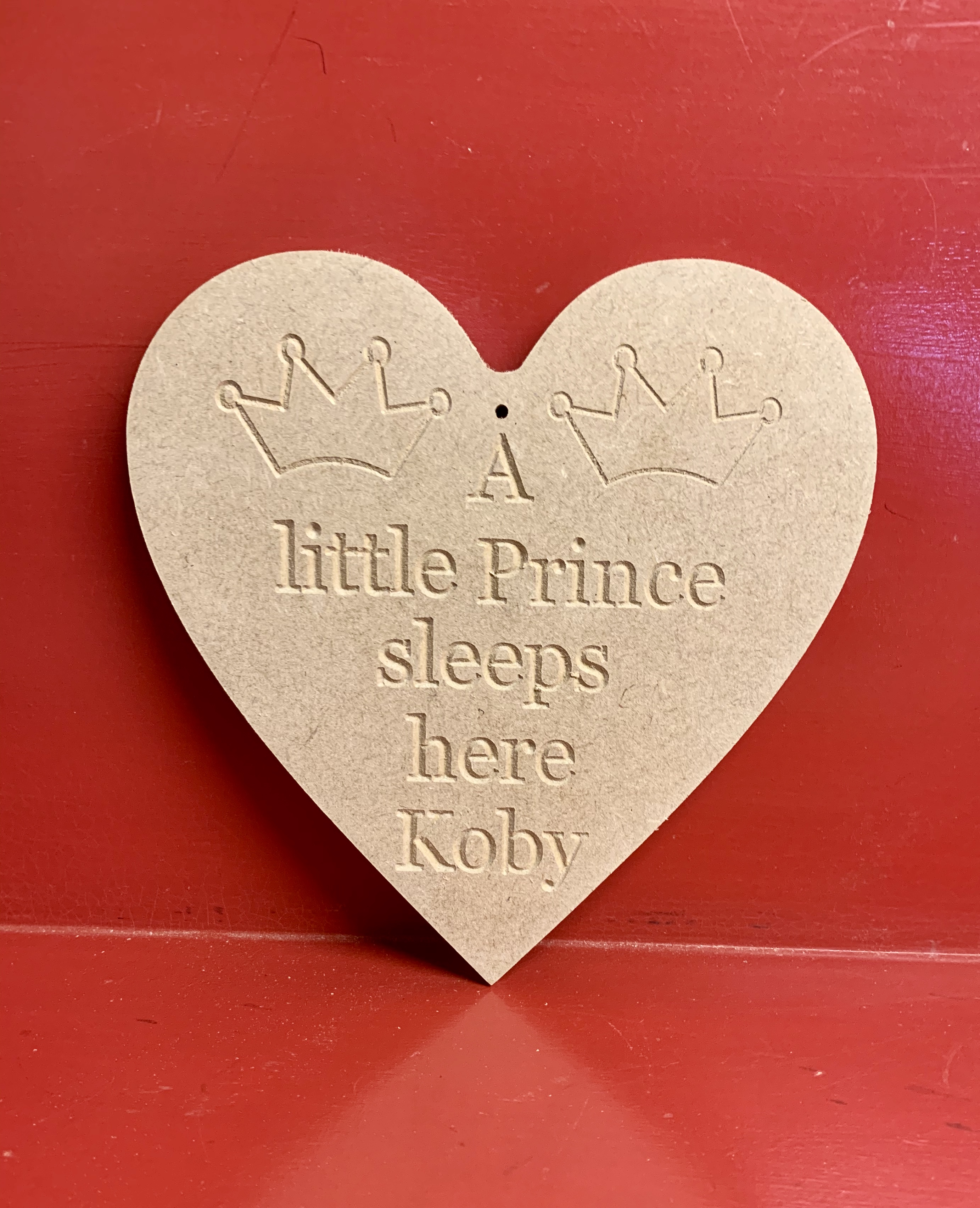 A Little prince personalised