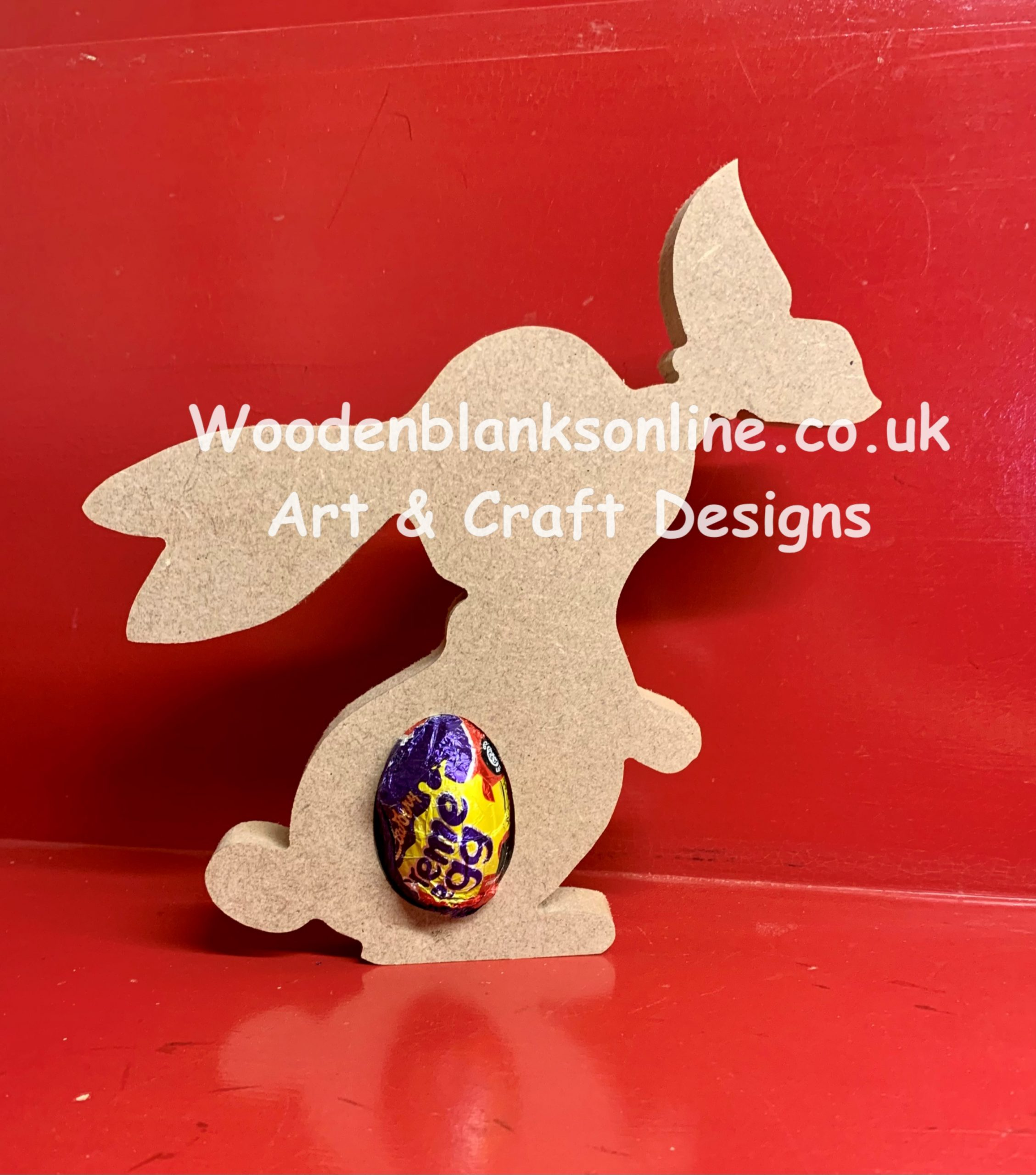 Butterfly bunny creme egg holder