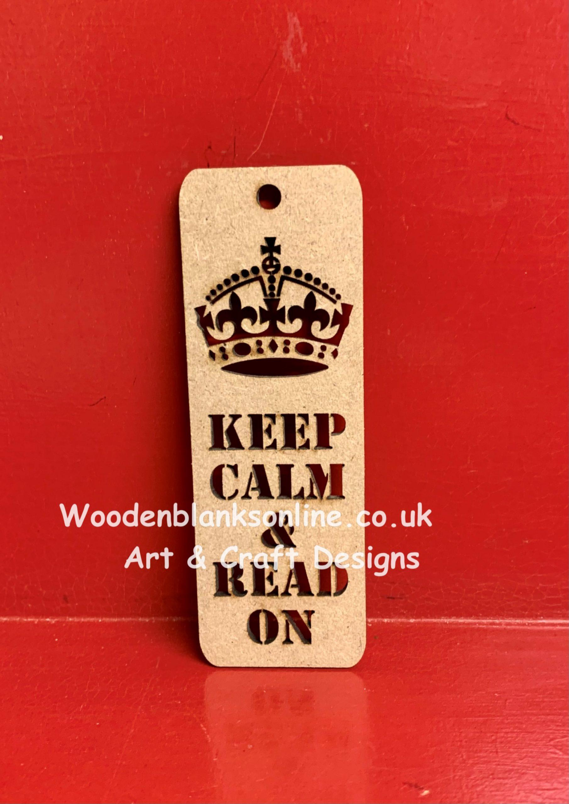 Bookmark 3 Keep calm